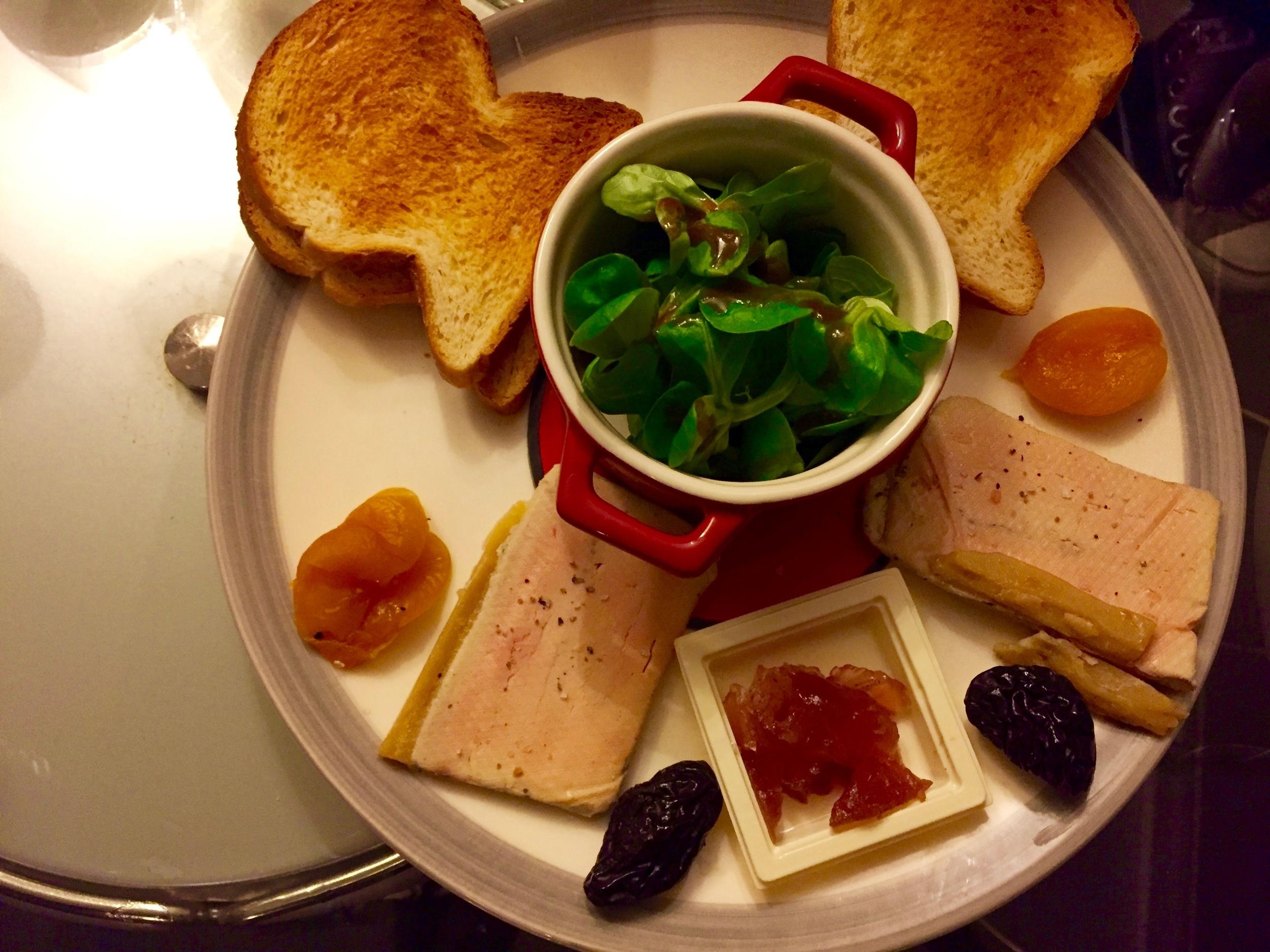 Feasting Pretty: Never enough foie gras