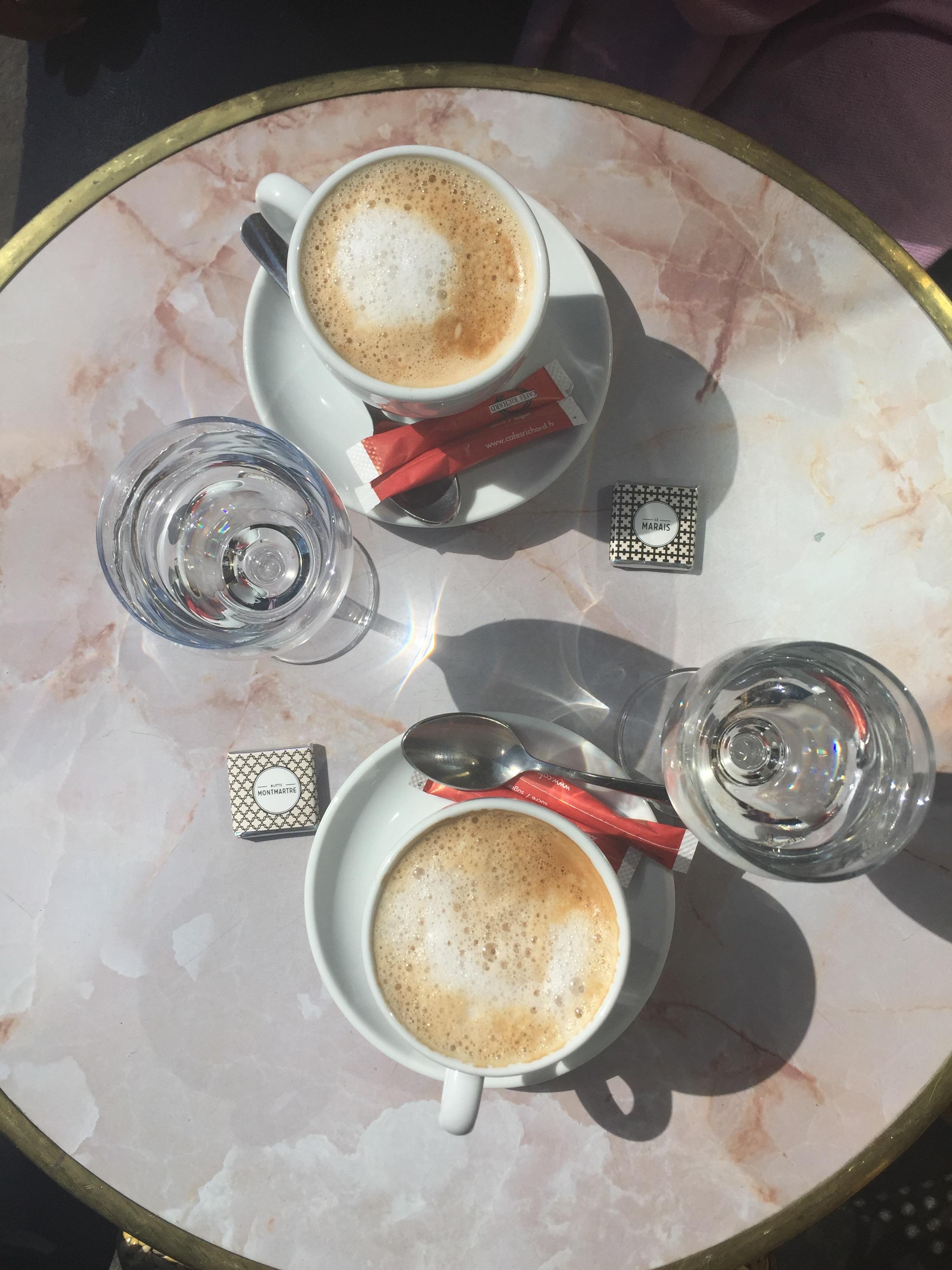 Never enough café crèmes.