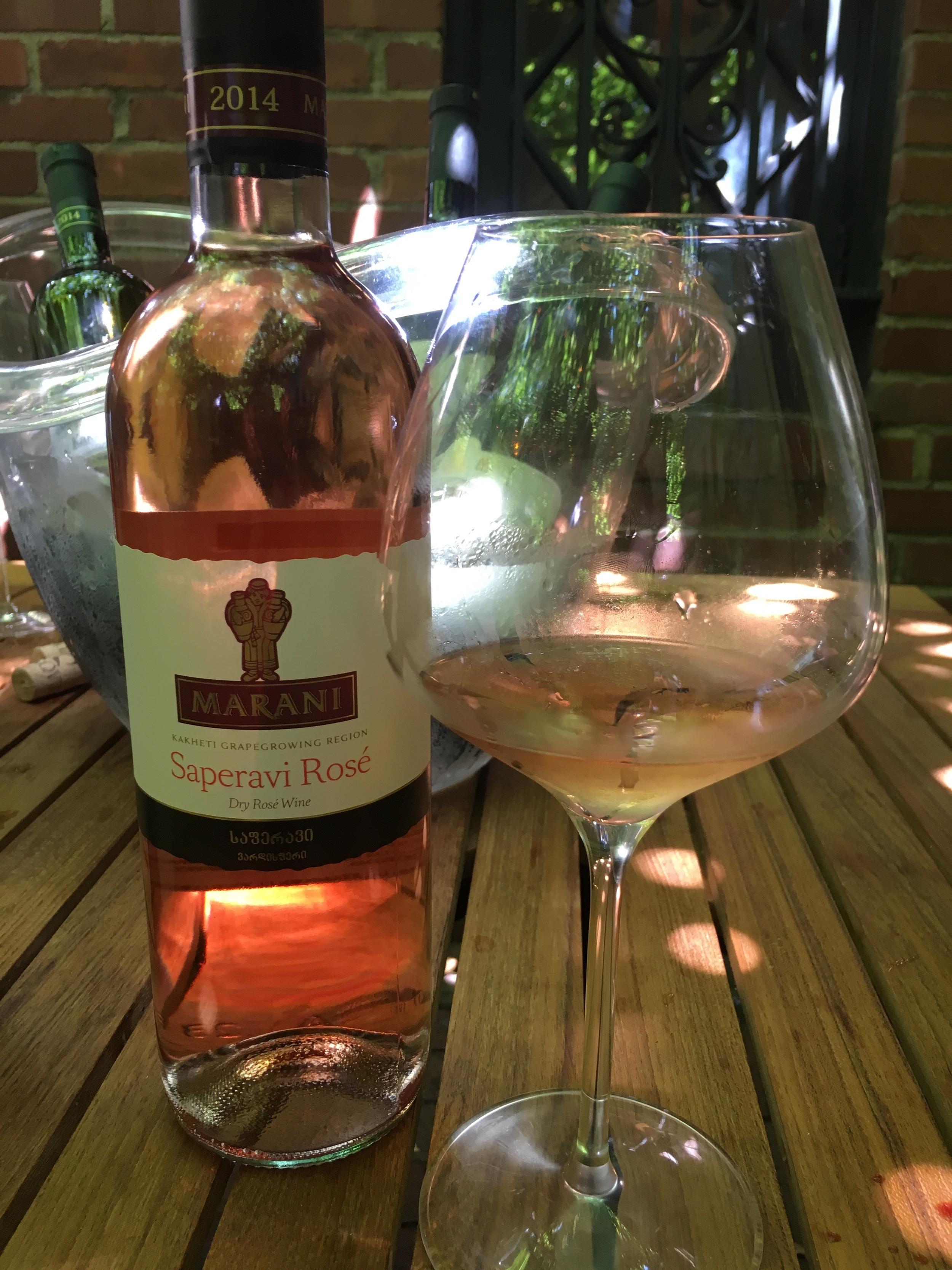 This rosé was delicious.