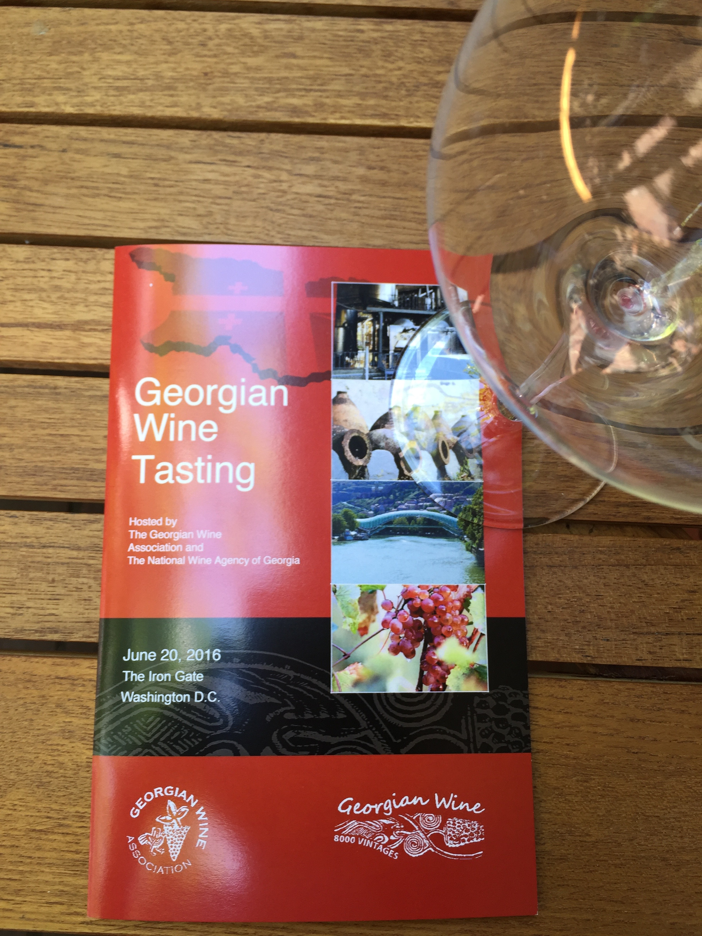 Ready for a day tasting Georgian wine.