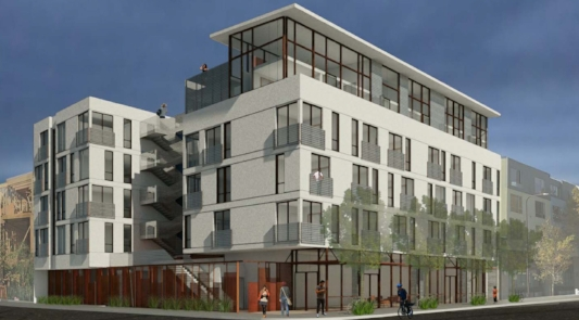 2720 San Pablo Avenue , West Berkeley 39 Residential Infill Units 21,696 GSF Client: NX Ventures