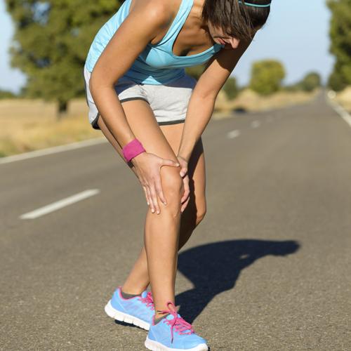 Running knee injury and pain