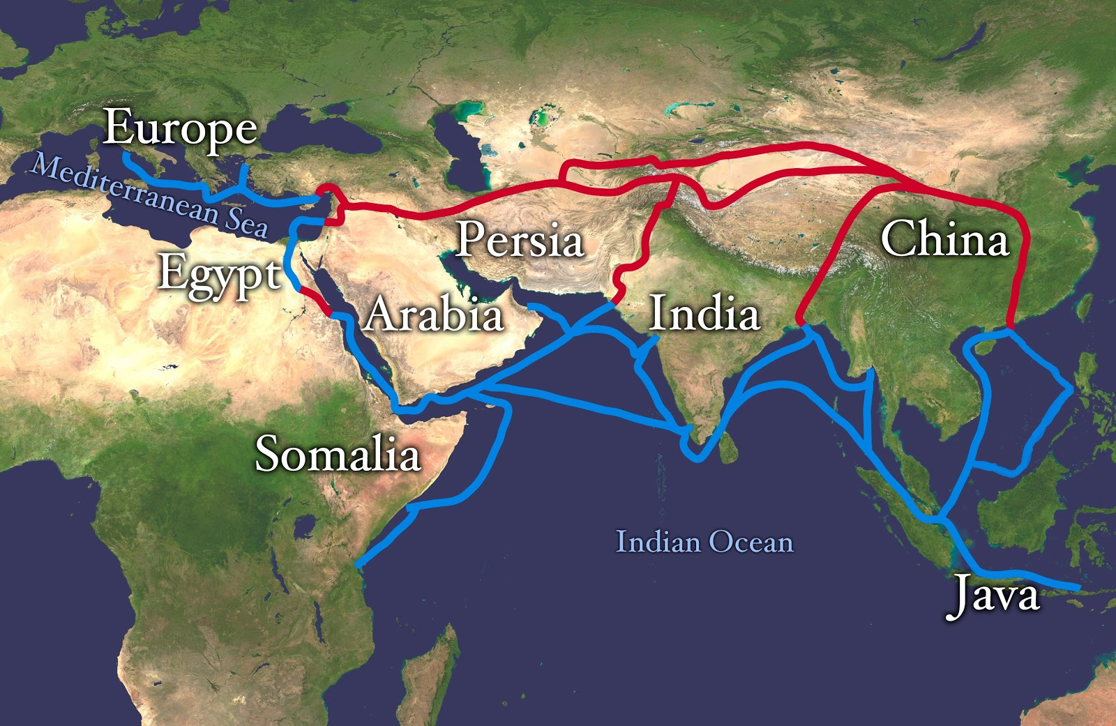 The Great Silk Road was passing through territory of Kyrgyzstan