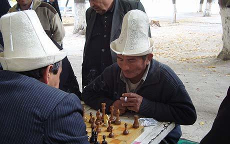 Men in traditional hats