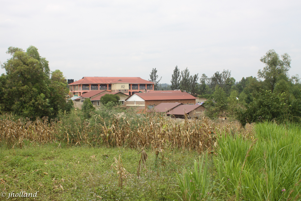 A hilltop view of Sam's Place from a neighbor's field.