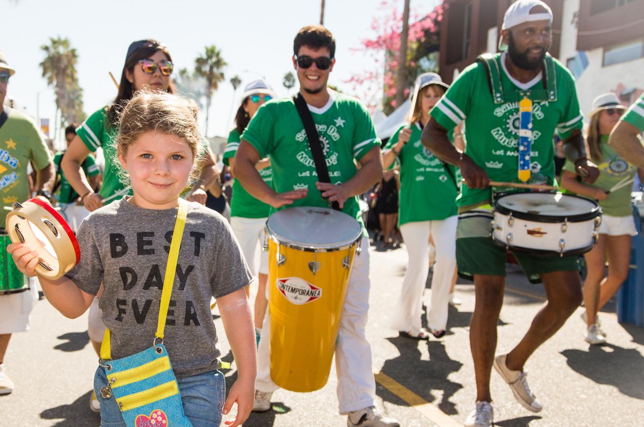 abbot kinney festival kidsquad parade