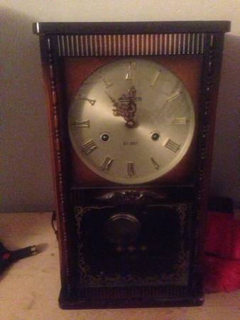 Antique Clock $60