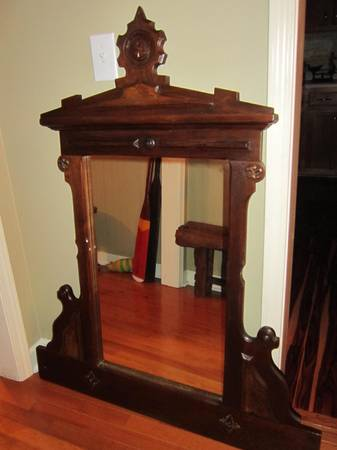 Large Antique Mirror $75