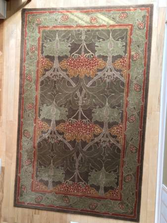 Pottery Barn Cecil 5' x 8' rug   $125 - This is still sold at Pottery Barn and retails for $399