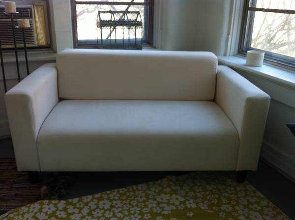 Small White Sofa $175