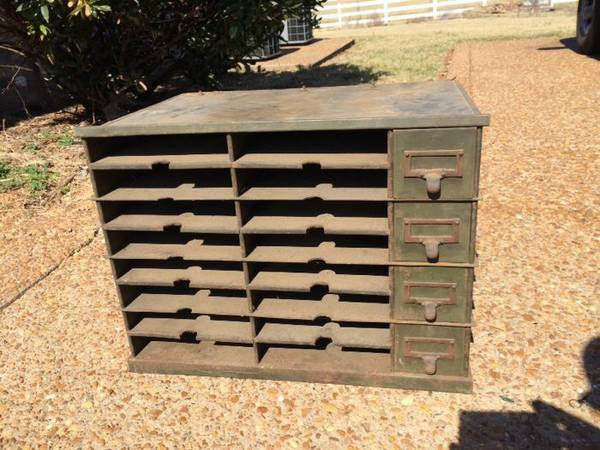 Military Mail Shelf $100