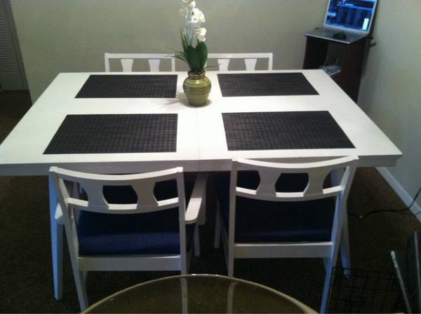 Dining Set $50  - Great price for a cute little dining set.