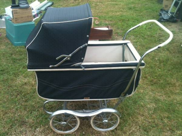 Vintage Pram $100  - This is a good price, could be a great nursery decoration or would be adorable for photo shoots.