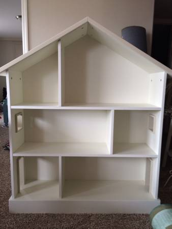 Pottery Barn House Bookshelf $100 each (2 available)  - Would be so cute in a bedroom or playroom.