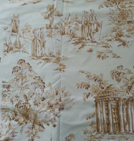 Designer Upholstery Fabric $40 for 5.5 yards  - If you are interested in this I'd offer $25.