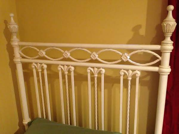 Off White Twin Bed $150
