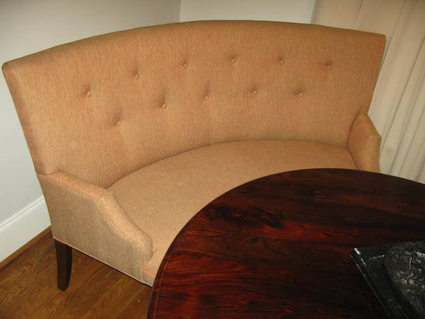 Mitchell Gold + Bob Williams Curved Banquette $400