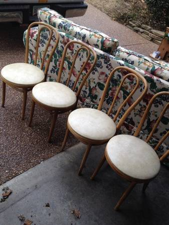 Bentwood Chairs $20