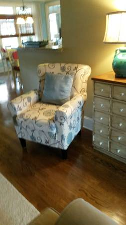 Floral Accent Chairs (2) $175