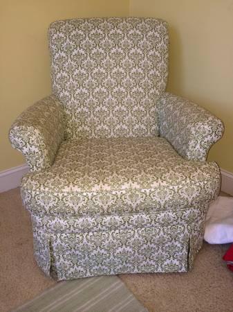 Swivel Rocker $275 - This would be cute in a nursery.