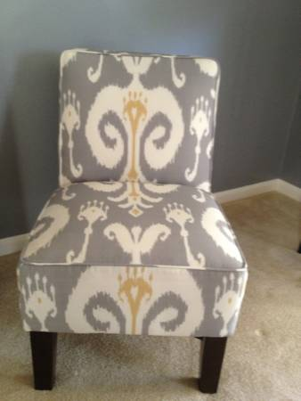 Pair of Ikat Chairs $150