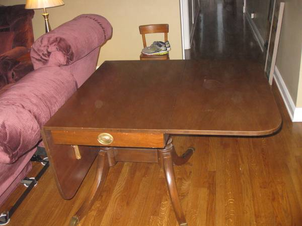 Drop Leaf Table $100  - These tables are very versatile and are great if you are lacking in space.