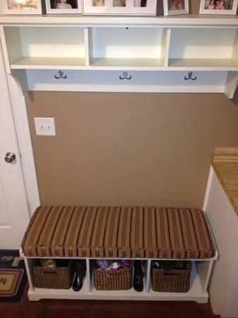 Mudroom Bench and Shelf $175