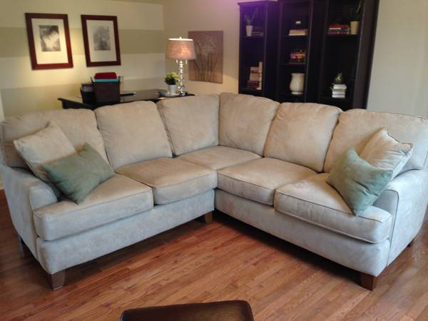 Microfiber Sectional $550
