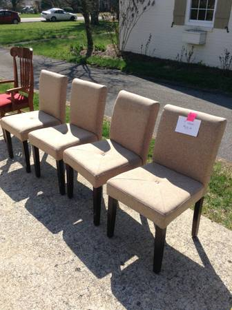 Set of 4 Chairs $50