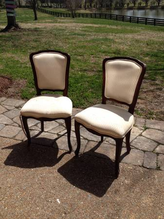 Vintage French Chairs $40 each