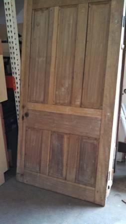 Antique 6 Panel Door $225  - Also at the Habitat Humanity ReStore in Franklin.