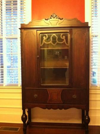 Antique China Cabinet $250