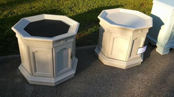 Octagon Tables $40
