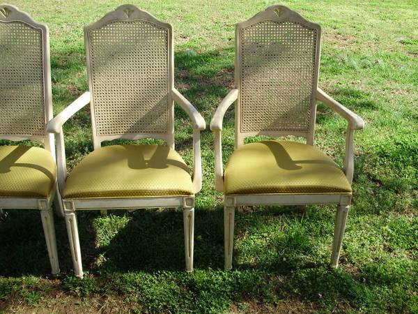 Set of 6 chairs $80  - This is a great price for a beautiful set of chairs.