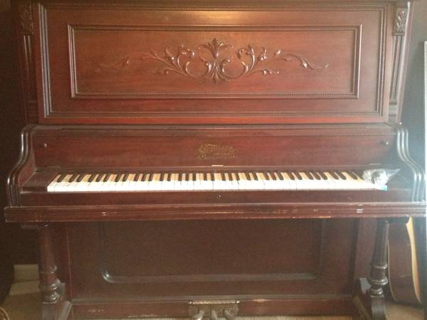 Antique Upright Piano $200