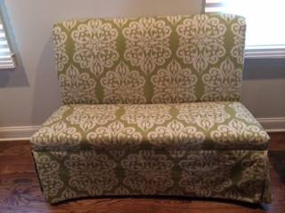 Ballard Designs Banquette Bench $100  - Great price for this piece!