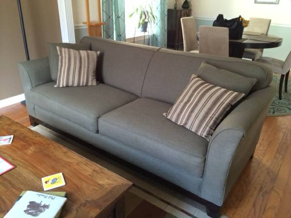 Crate and Barrel Sofa $300