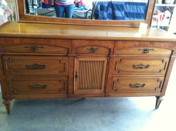 King Bedroom Suite $400  - This is a great deal for a beautiful set, it includes a headboard, 2 dressers and a nightstand.