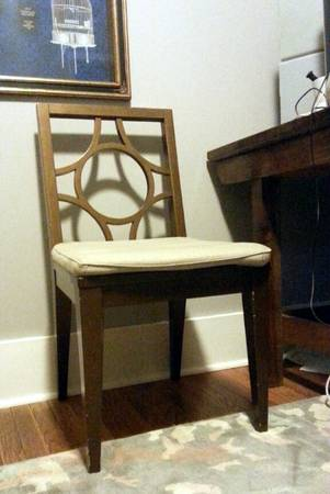 Set of 4 West Elm Dining Chairs $250