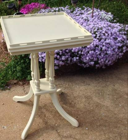 Pair of Antique Side Tables $60  - Cute little pair of of tables for a great price.