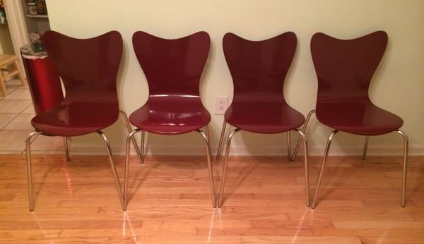 Set of 4 West Elm Chairs $100