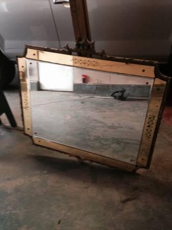 Antique Mirror $70