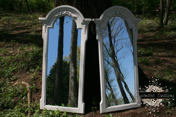 Pair of Mirrors $100 (or $50 each)