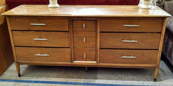 Mid Century Dresser $350  - This piece is at the Habitat ReStore in Franklin.
