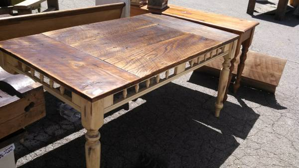 Unique Barnwood Table $300  - I see a lot of barn wood tables on Craigslist and I usually don't post them because they pretty much all look the same. This one however has some unique details on the side which I love and at $300 it is a good price. If you are looking for a table you should definitely check this one out!