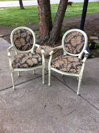 Pair of Antique Chairs $150