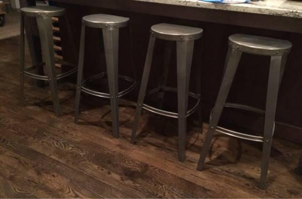 Set of Four Barstools $270