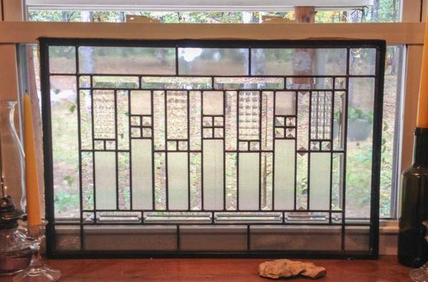 Leaded Glass Window $70