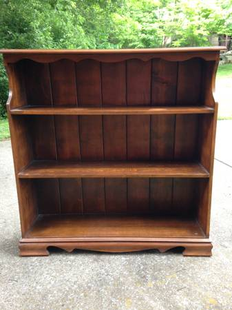 Bookcase $30  - This seller has several bookcases listed from $30-$45, I think this one would be really cute painted and in a playroom or kid's room.