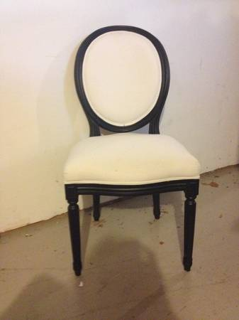 Louis Style Chair $25  - This is a great price, since there is just one would be a good desk chair option.